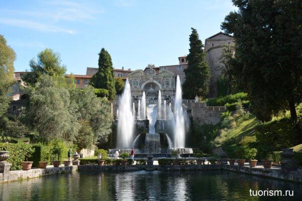фонтан Нептуна, красота, вилла д'Эсте, Fountain of Neptune, villa d'Este