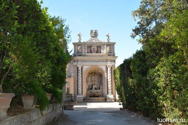 фонтан совы, музыкальный фонтан, вилла д'Эсте, Fountain of the Owl, villa d'Este