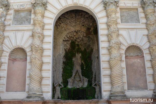 Фонтан Прозерпины, вилла д'Эсте, Тиволи, Fountain of the Proserpina, Fontana di Proserpina, villa d'Este, Прозерпина