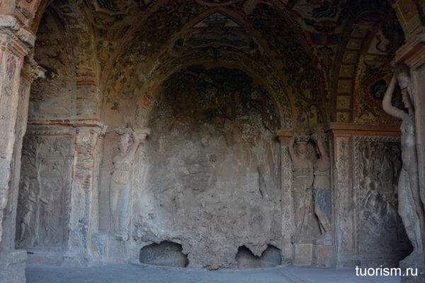 грот Дианы, разрушенный фонтан, красивейший грот, вилла д'Эсте, что посмотреть, Grotto of Diana, villa d'Este