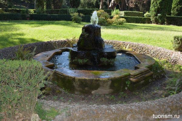 фонтанчик, фонтан без орлов, вилла д'Эсте