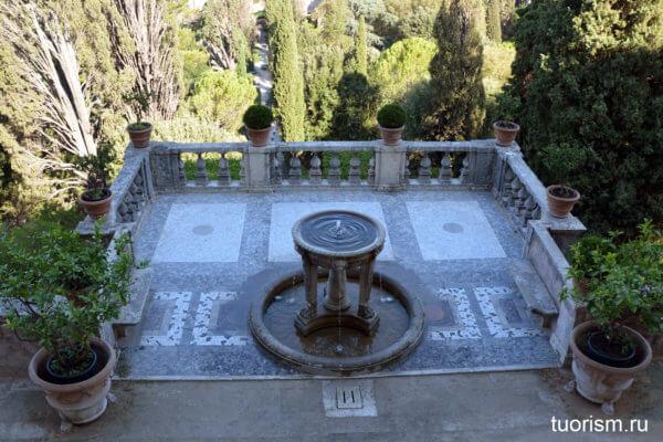 фонтан Треножник, вилла д'Эсте, Fountain of the Tripod, villa d'Este