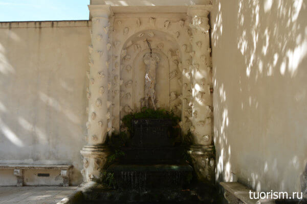 фонтан Вакха, вилла д'Эсте, фонтан