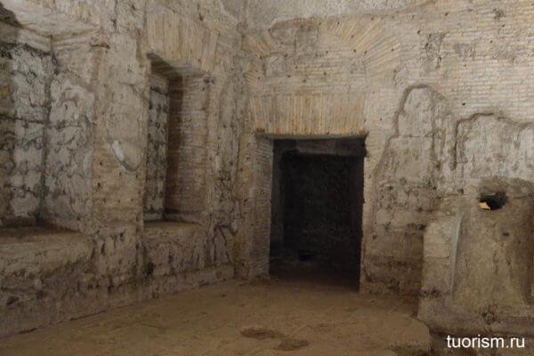нимфей, зал 45, Домус Ауреа, Золотой дом, Нерон, как выглядит