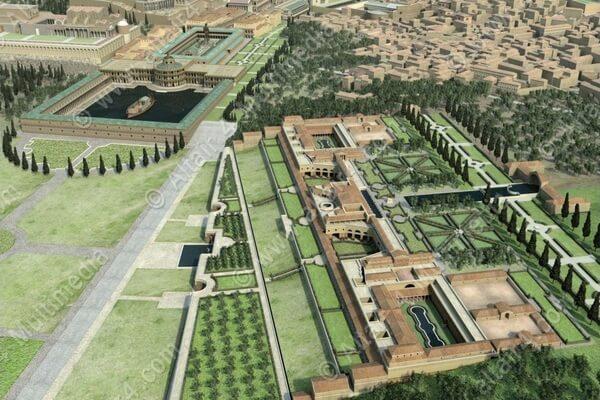 Золотой дом Нерона, Рим, реконструкция, достопримечательность
