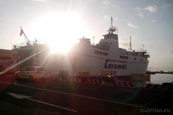 Caremar, паром, ферри, Неаполь, ferry, Naples, to Capri, Naples port, утро, рассвет, корабль, morning, sunrise