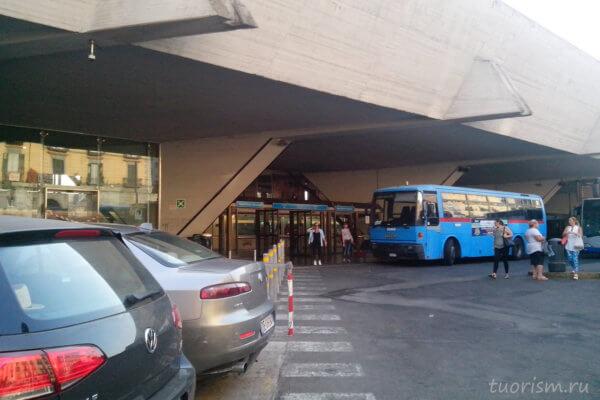 станция, Porta Nolana, Неаполь, station, Circumvesuviana