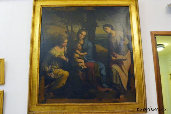 мадонна, Альбинея, копия, Корреджо, Капитолийские музеи, Рим