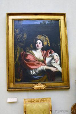 Доменикино, кумская сивилла, картина, Капитолийские музеи, The Sybil, Domenichino, Sibilla Cumana, Capitoline museums., Rome