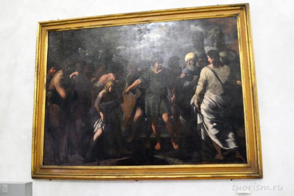 Джованни Мария Ботталла, братья продают Иосифа, Ботталла, картина, церковная тематика, Капитолийские музеи, picture, Capitoline museums