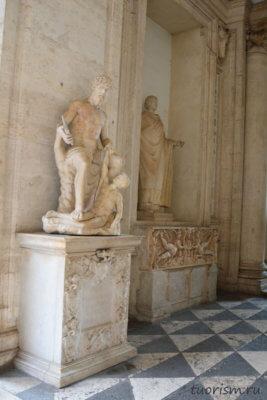 Полифем, скульптура, Капитолийские музеи, statue, Polyphemus, marble, Capitoline museums
