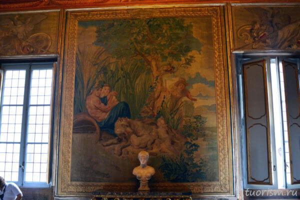 гобелен, Ромул и Рем, Капитолийские музеи, зал, Capitoline Museums, tapestry, Romulus and Remus