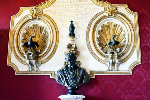уточки, гуси, спасли Рим, скульптуры, Капитолийские музеи, бюст Микеланджело, бронзовые уточки, bronze ducks, saved Rome, geese, capitoline geese, Capitoline museums