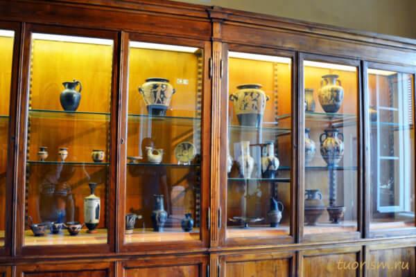 Керамика, Капитолийский музей, витрины