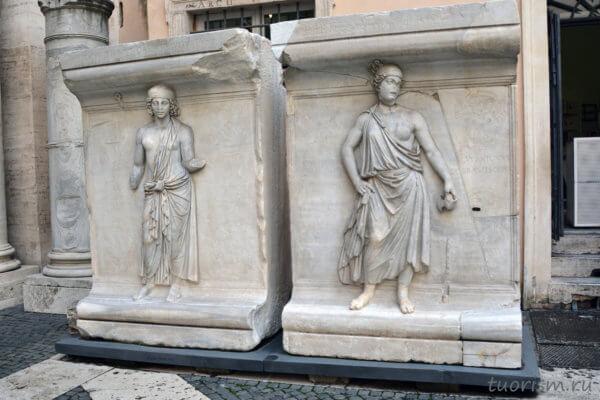 экспонат, Ахея, провинция Ахея, персонификации, женские фигуры, Капитолийские музеи