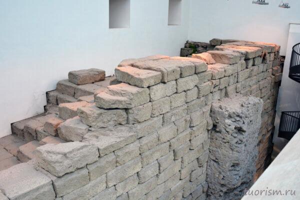 фундамент, кирпичи, храм Юпитера, Капитолийские музеи