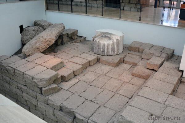 фундамент, плоский, кирпичи, Рим, античность, Капитолийские музеи