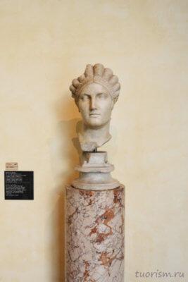 бюст, Салонина Матидия, Капитолийские музеи, что посмотреть, достопримечательность, Рим, Salonia Matidia, bust, Capitoline museums, сады Тавра