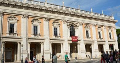 Капитолийские музеи, дворец консерваторов, Рим, капитолийская площадь