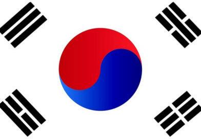 флаг, Южная Корея