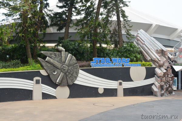 Звёздные войны, Диснейленд, Гонконг, Star wars, Tomorrowland, Disneyland, Hong Kong
