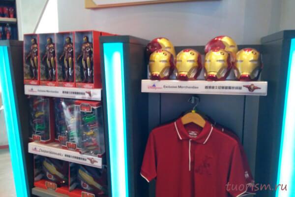 сувениры, Железный человек, Диснейленд, Гонконг, souvenirs, Iron man, Marvel, Hong Kong, Disneyland