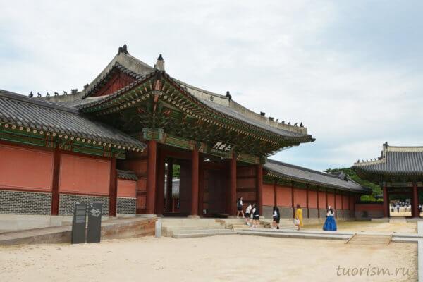 Дворец Чхандоккун, Сеул, корейская архитектура, что посмотреть, Changdeokgung, palace, Seoul, sights, korean architecture