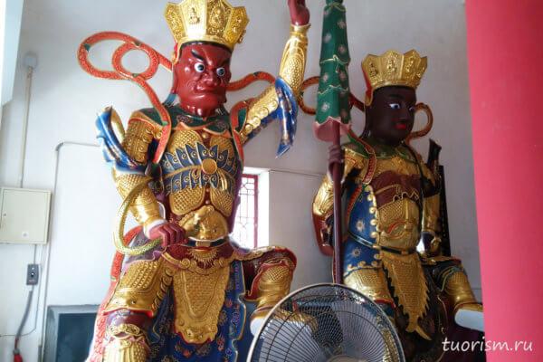 охранники, буддизм, красный мужчина, черный мужчина, божества